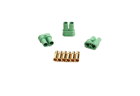 Castle Creations 4mm Polarized Connectors- Female Multi-Pak | RC Overstock