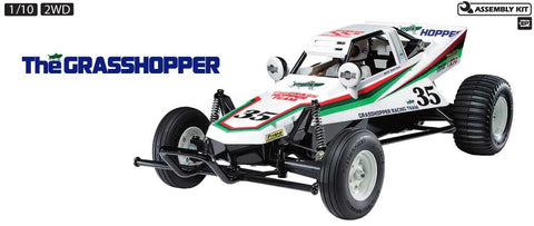 Tamiya Tamiya Grasshopper 1/10th Scale Re-release Kit | RC Overstock