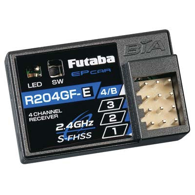 Futaba R204GF-E Micro 4 Channel Surface Receiver | RC Overstock