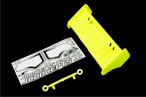 1/8 High Down Force Wing, Yellow