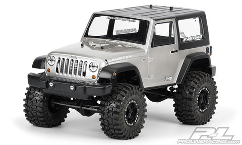 2009 Jeep Wrangler Clear Body for 1:10 Scale Crawlers