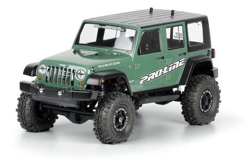 Jeep Wrangler Unlimited Rubicon Clear Body, 12.3""