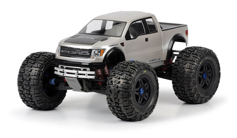 Ford F-150 SVT Raptor Clear Body for Revo 3.3 and T-Maxx 3.3