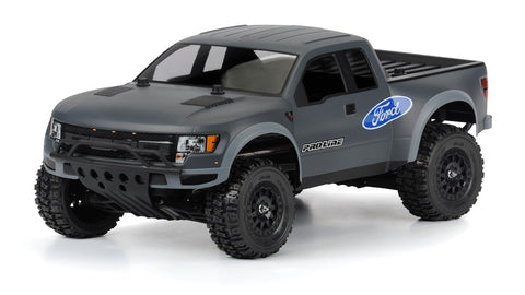 True Scale Ford F-150 Raptor SVT Clear Body for Slash