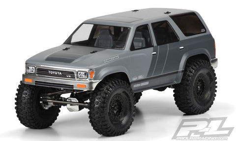 "1991 Toyota 4Runner Clear Body For 12.3"" Wheelbase Scale"