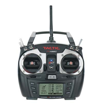 Tactic RC TTX650 6 Channel SLT Transmitter | RC Overstock