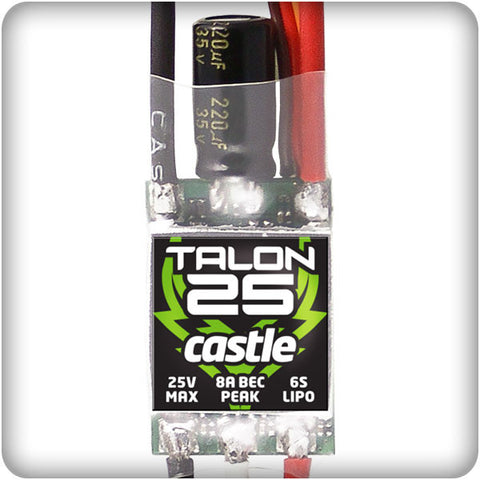 Castle Creations Talon 25 BL ESC | RC Overstock