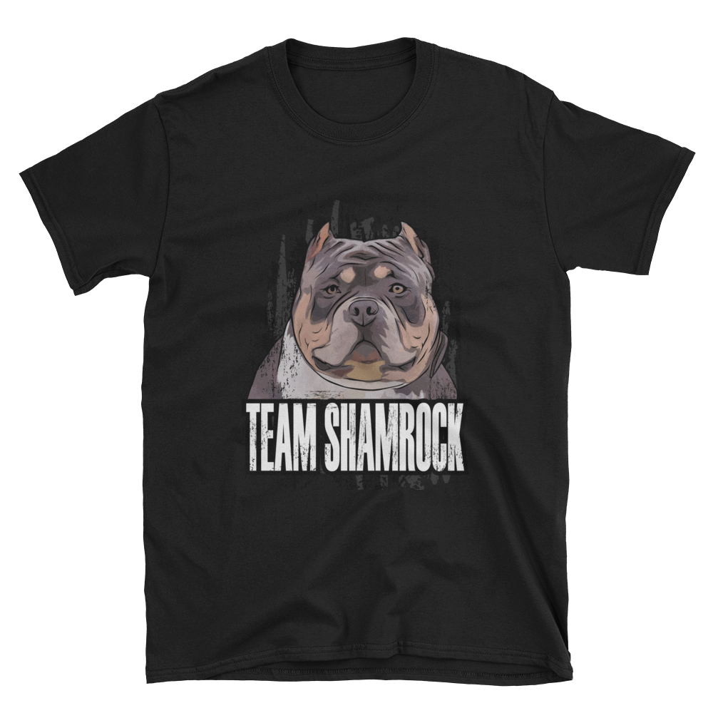 Team Shamrock Short T-Shirt-BULLY KING Magazine