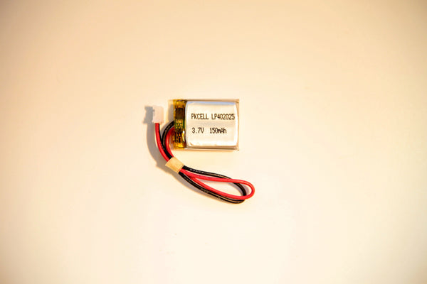 Lithium Ion Polymer Battery - 3.7v 150mA