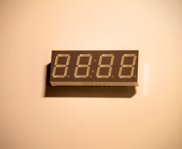 "7-segment clock display - 0.56"" digit height"