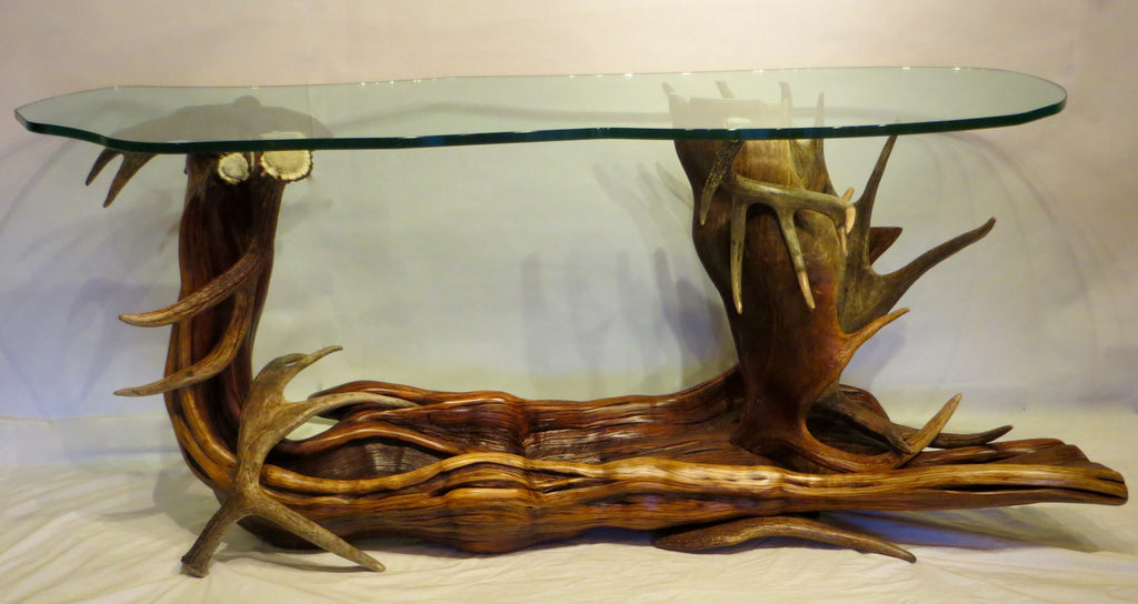 antler and juniper console table – gametrailgatherings