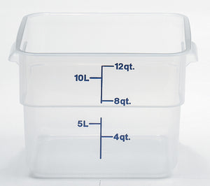 Cambro Square Translucent Container, Food Container - eKitchenary