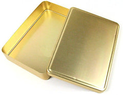 Nickel Plated Yellow Aluminum Korean Lunch Box with Lid 양은 도시락