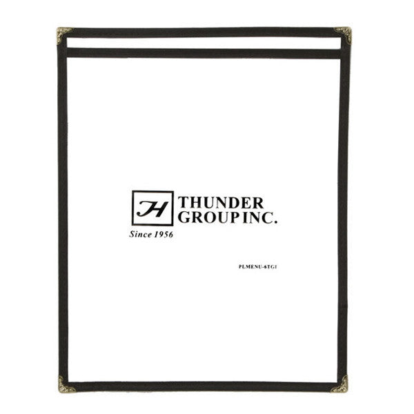 Single Menu Cover (10 Pack)