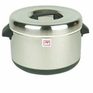 Stainless Steel Sushi Rice Insulated Pot, Cookware - eKitchenary