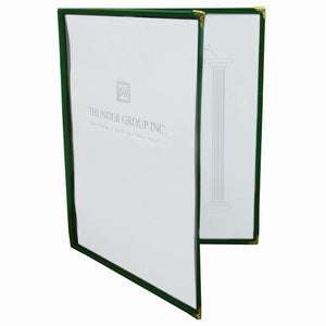Double Fold Menu Cover (10 Pack), Tabletop - eKitchenary