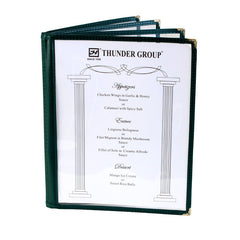 Menu Cover, 4 Page Book Fold (10 Pack)
