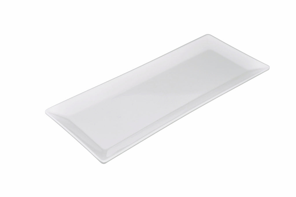 Melamine Classic Rectangular Plate (12 Pack), Tabletop - eKitchenary