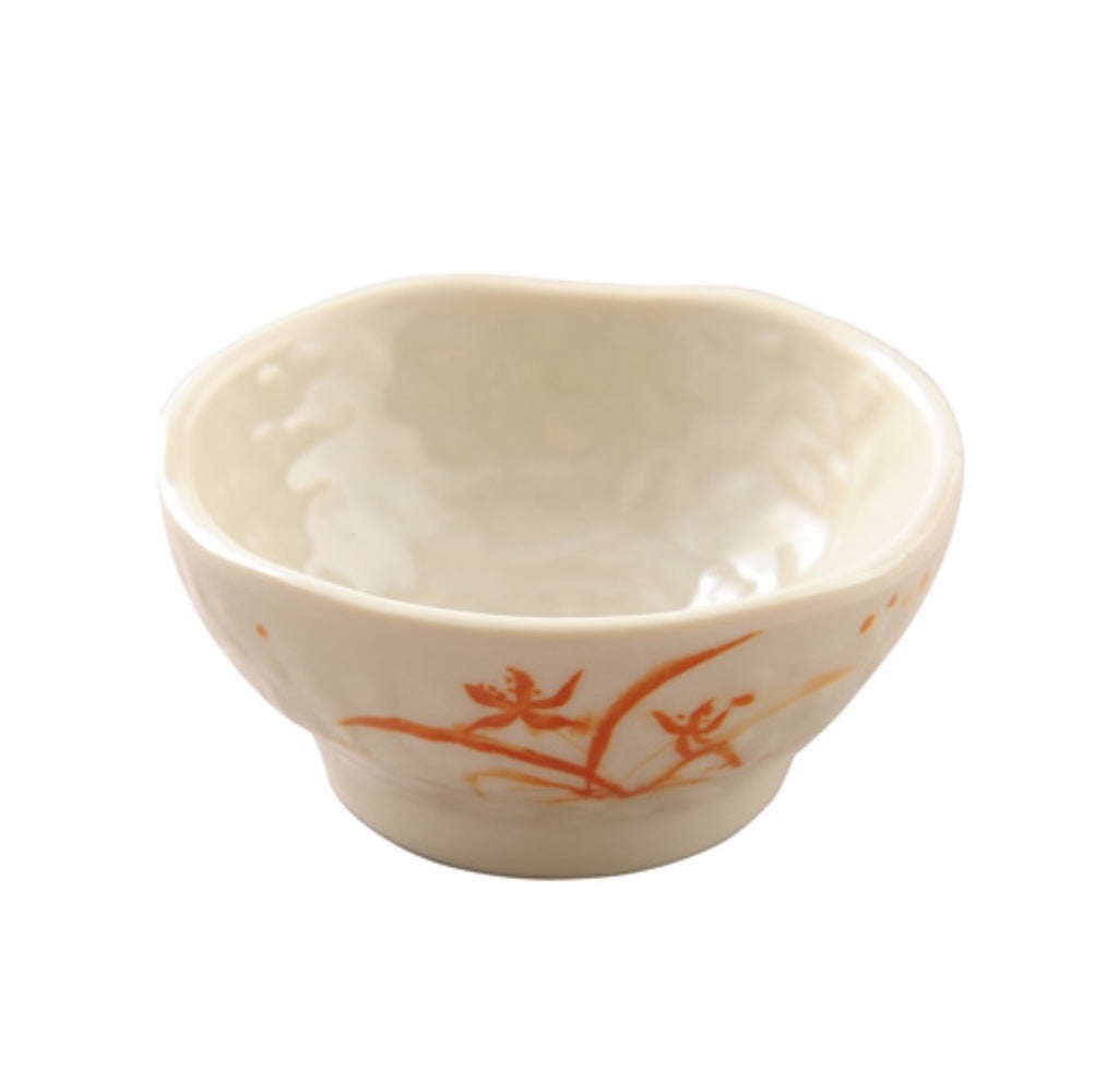 Melamine Gold Orchid Wave Bowl (12 Pack), Melamine - eKitchenary