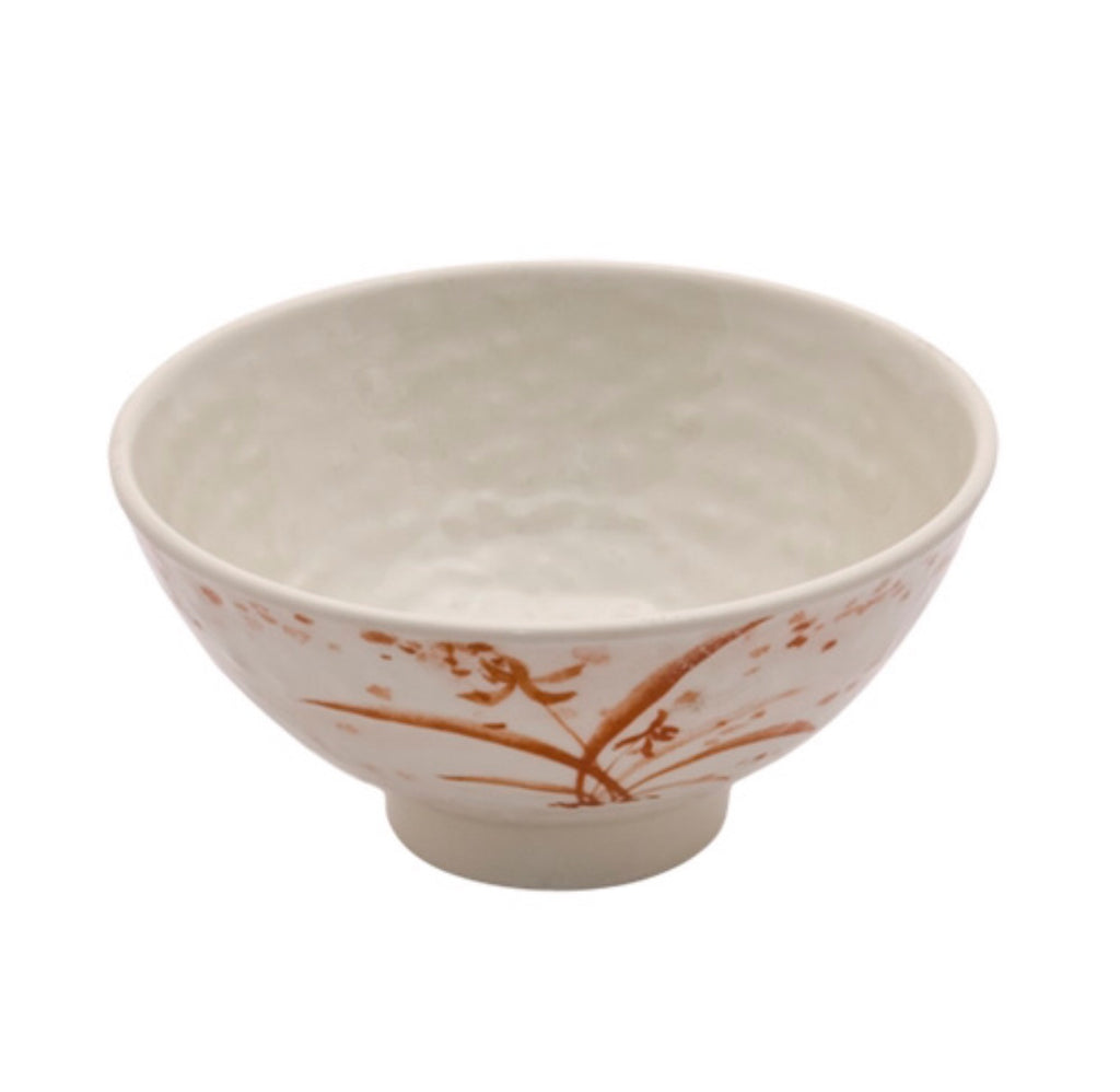 Melamine Gold Orchid Soup Bowl (12 Pack), Melamine - eKitchenary