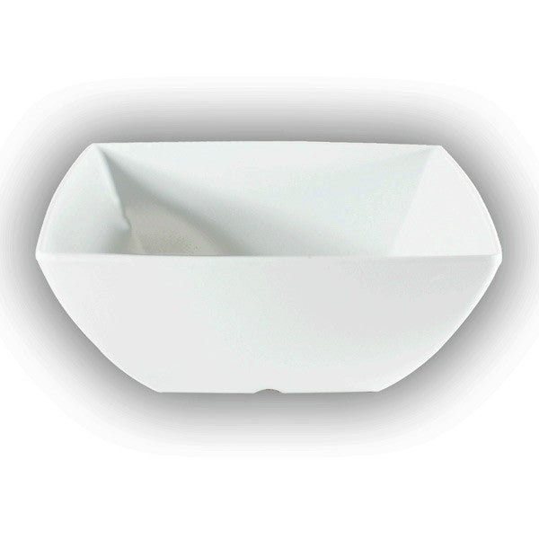 Melamine Classic Square Bowl (12 Pack), Tabletop - eKitchenary
