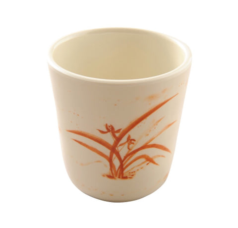 Melamine Gold Orchid Cup (12 Pack)