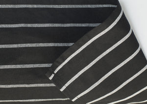 "Chalkstripe Bib Apron with Pockets, 34"" x 27"", Apron - eKitchenary"