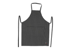 "Chalkstripe Bib Apron with Pockets, 34"" x 27"""