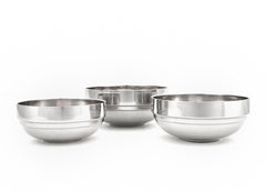Stainless Steel Double Wall Bowl (Tangi) 탕기
