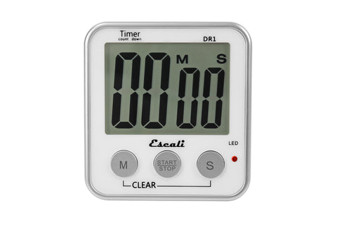 Escali Extra Large Display Digital Timer DR1, Kitchen Tools - eKitchenary