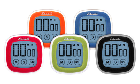 Escali Touch Screen Digital Timer DR3, Kitchen Tools - eKitchenary