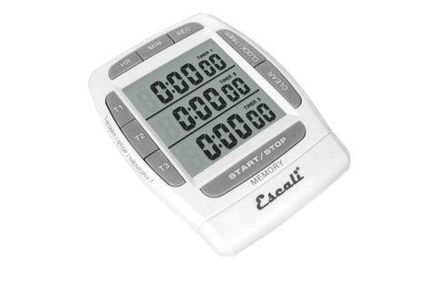 Escali Triple Event Digital Timer DR5, Kitchen Tools - eKitchenary