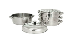 Stainless Steel Custom-Tier Steamer, 스댄 찜기
