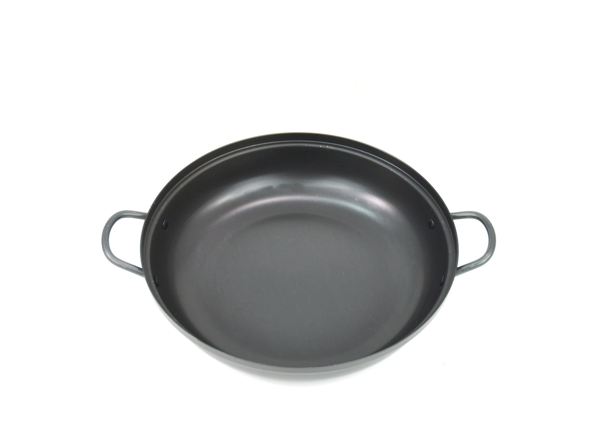 Anodized Aluminum Korean Stew Pot, Low 경질 낮은 전골 냄비 (Case), Aluminum - eKitchenary