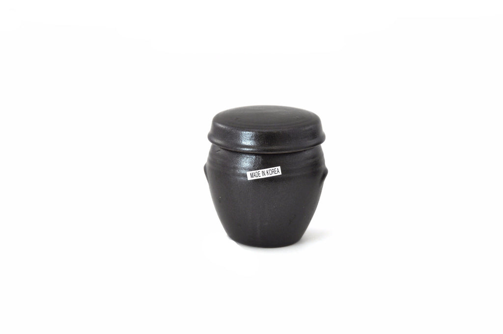 Korean Mini Clay Jar with Lid, Hangari 항아리 (Mini)