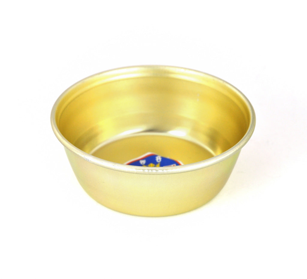 Nickel Plated Yellow Aluminum Korean Bowl 양푼이 (Case)