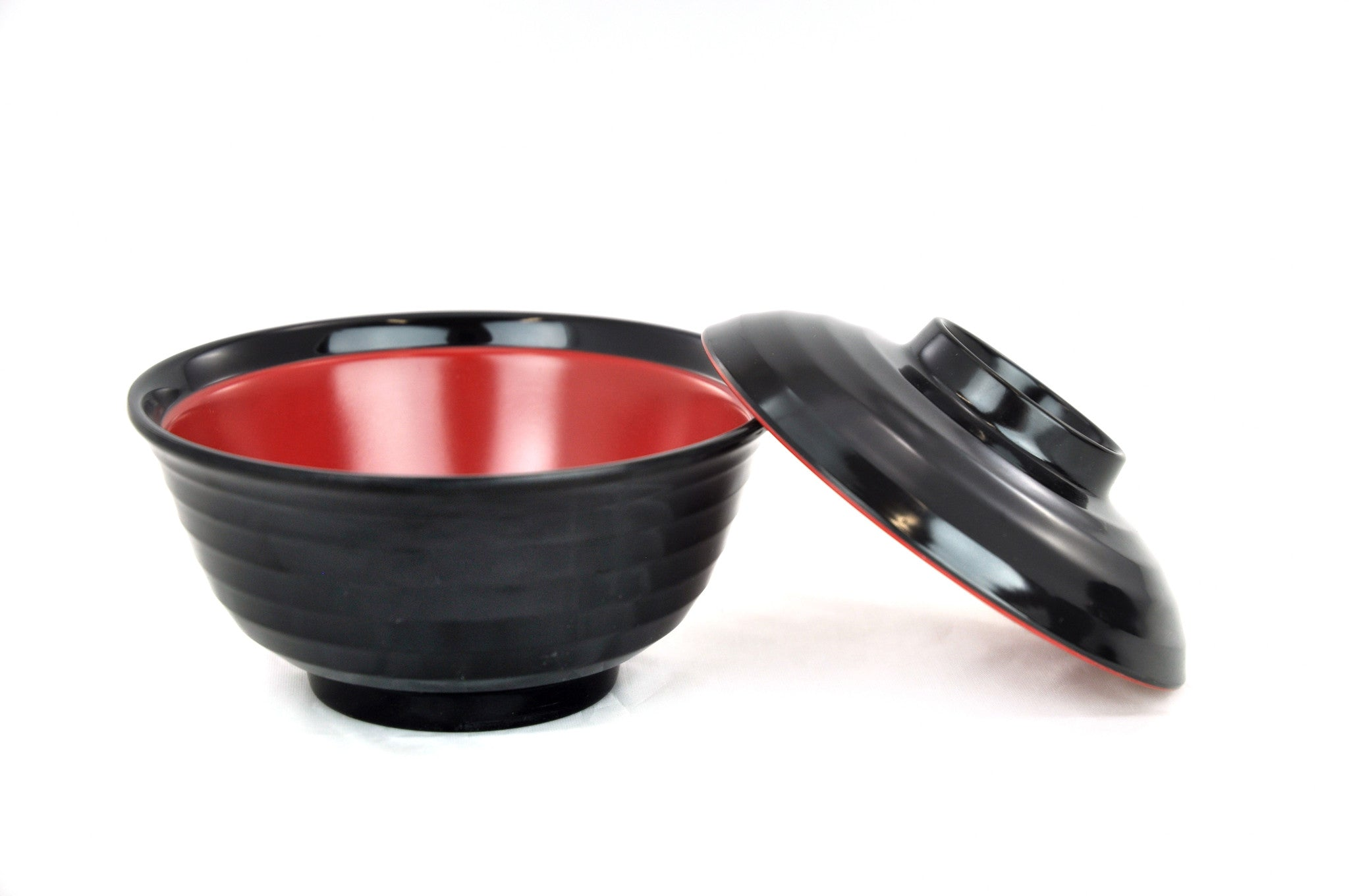 Melamine Lacquer Bowl with Lid, Melamine - eKitchenary