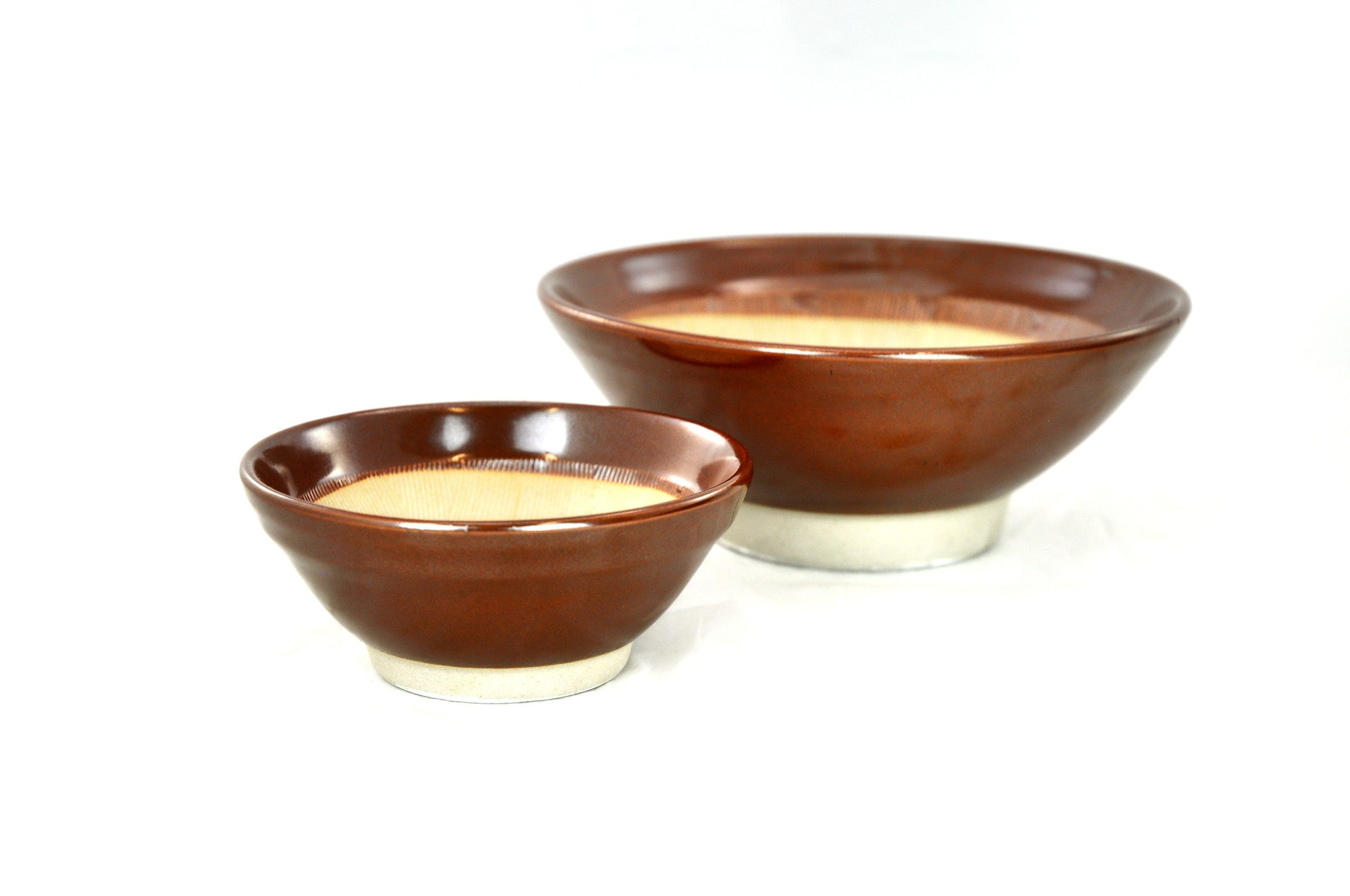 Ceramic Mortar & Wooden Pestle (Suribachi & Surikogi) 수리바치 & 수리코기, Tabletop - eKitchenary