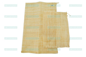 Mesh Straining Hemp Pouch, Coarse 삼베 주머니, Kitchen Tools - eKitchenary