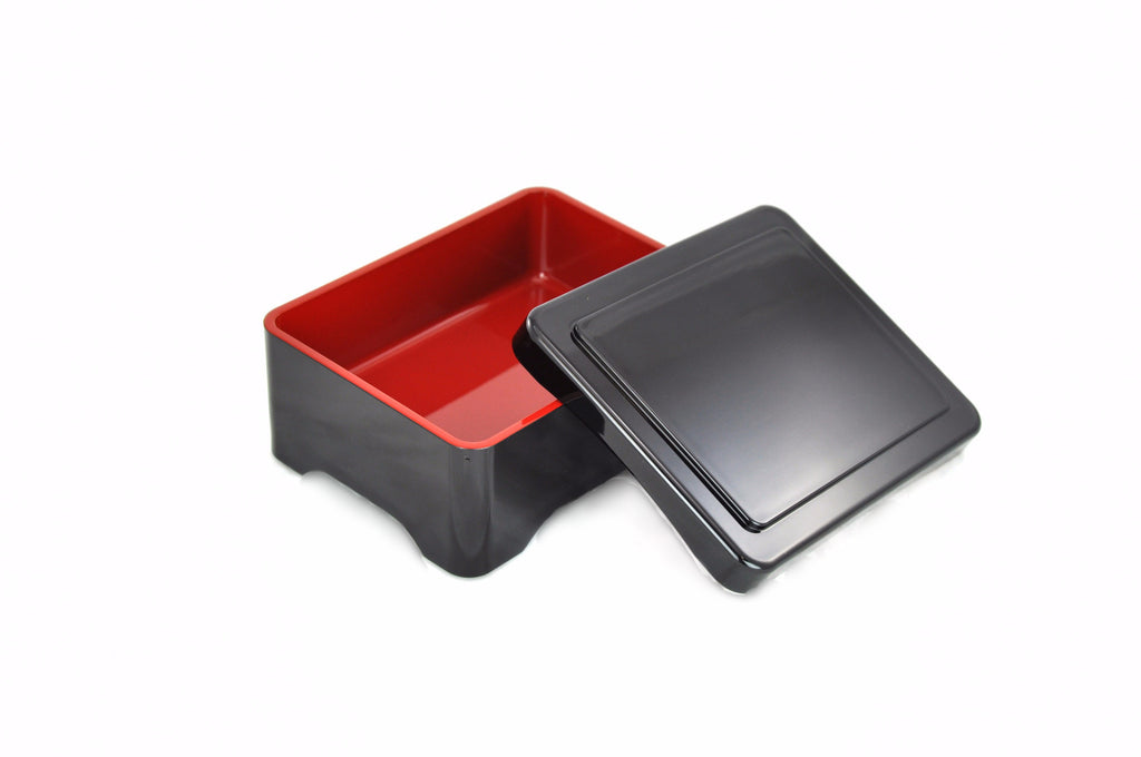 Melamine Lacquer Unagi Box with Lid, Melamine - eKitchenary