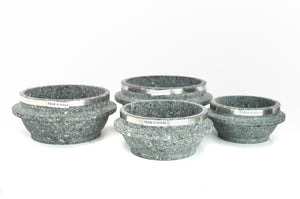 Korean Stone Pot with Rim, Dolsot 돌솥, Stone - eKitchenary