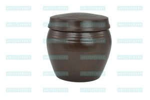 Korean Clay Jar with Lid, Hangari 항아리 (Modern), Clay - eKitchenary