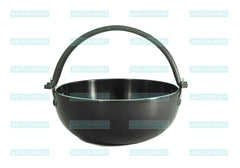 Aluminum Anodized Shabu Shabu Pot (Case-10pcs), Tabletop - eKitchenary