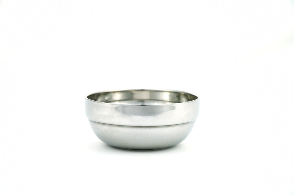 Stainless Steel Double Wall Bowl, Stainless Steel - eKitchenary