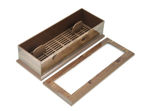 Utensil Case, Wood Design, Tabletop - eKitchenary