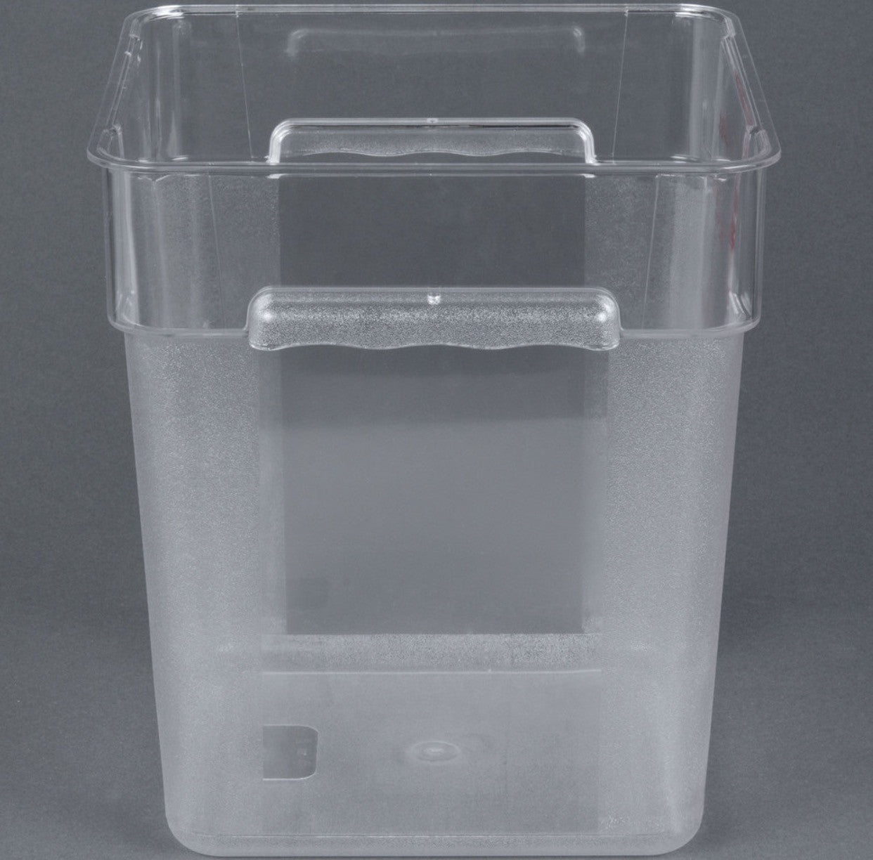 Thunder Group Polycarbonate Sqaure Food Storage, Clear (Case-6pcs), Polycarbonate - eKitchenary