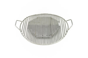 Stainless Steel Korean Bbq Grate with Handles, Stainless Steel - eKitchenary