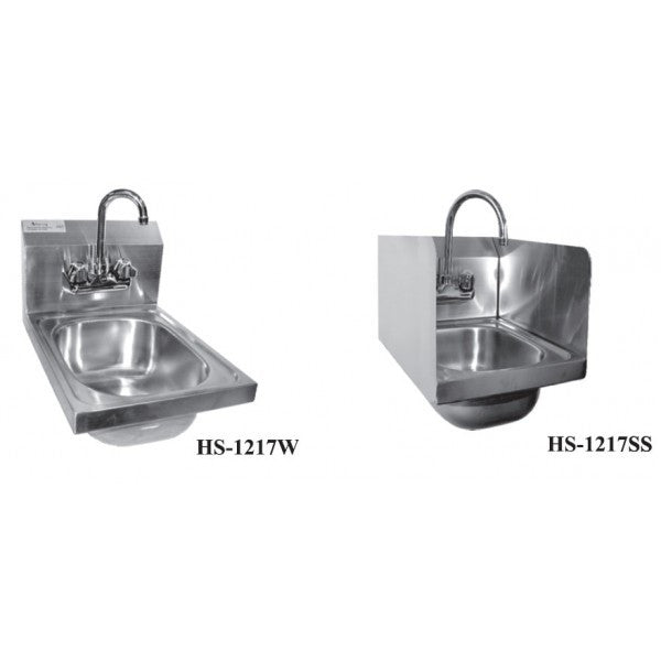 Stainless Steel Wall Mount Space Saver Hand Sink