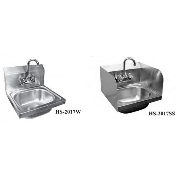 Stainless Steel Extra Wide Hand Sink, Equipment - eKitchenary