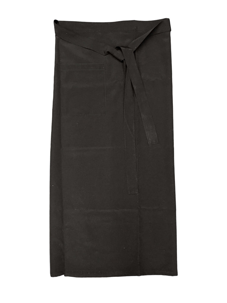 "Bistro Apron with 1 Pocket, Full Back Coverage, 43""L x 36""W, Apron - eKitchenary"